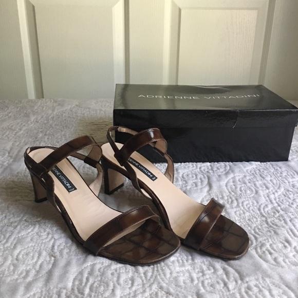 Vintage Adrienne Vittadini Sandals